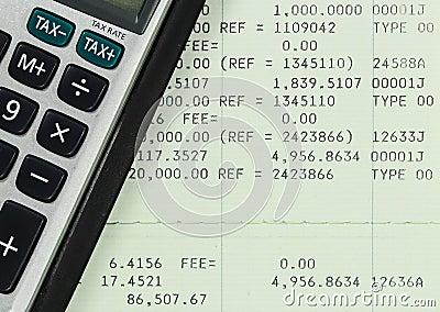 Savings Account Passbook With Calculator Photography Image – Savings Account Calculator