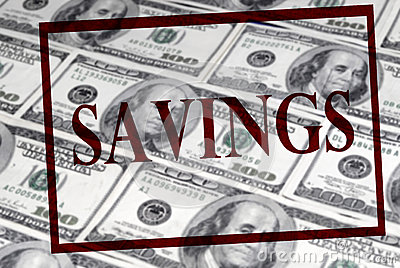 Savings of Cash
