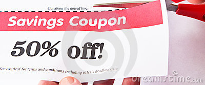 Savings Coupon