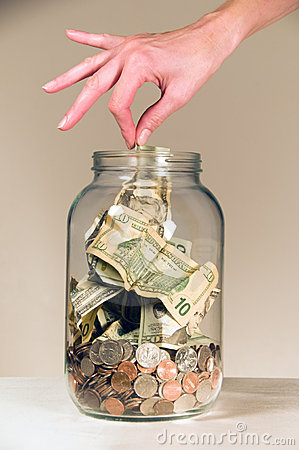 Free Savings Jar Stock Photo - 4135020