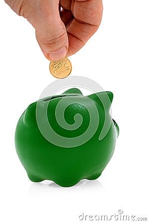 Savings and money