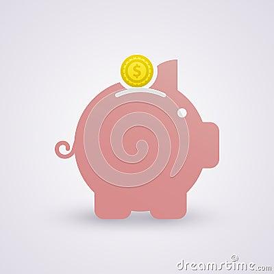 Free Savings. Piggy Bank Royalty Free Stock Images - 35113649