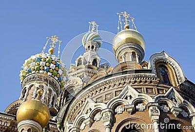 Savior-on-the-Blood Church in Saint Petersburg