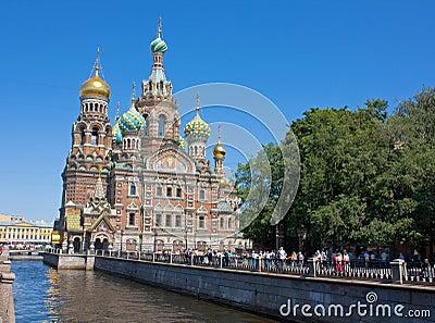 Savior on Blood, Saint Petersburg