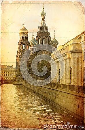 Savior on Spilled Blood, St. Petersburg, Russia