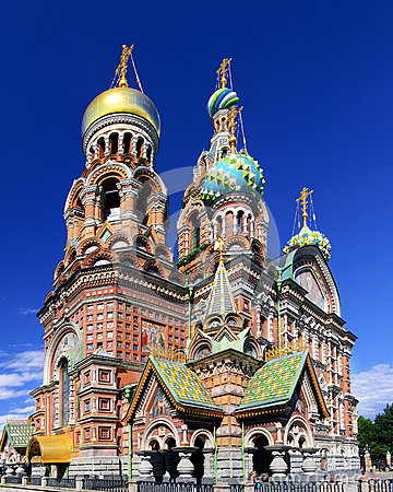 Saviour on Spilled Blood, St. Petersburg