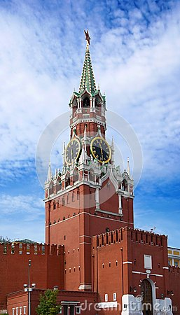 The Saviour Tower. Kremlin in Moscow.
