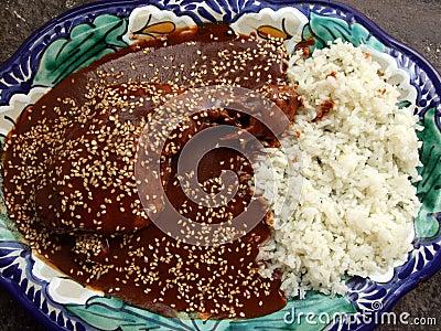 Savory Puebla Chicken Mole