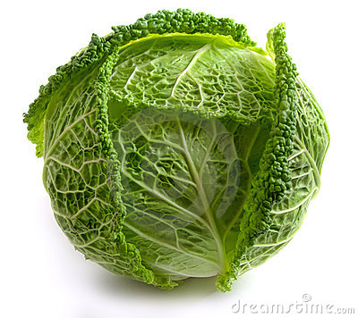 Free Savoy Cabbage Royalty Free Stock Photography - 14996587