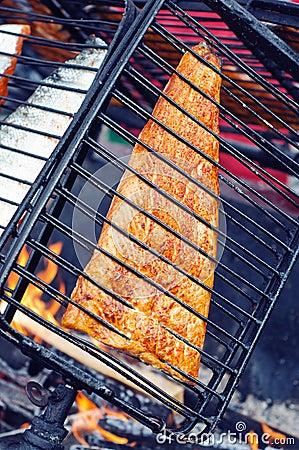 Savulohi- smoked salmon