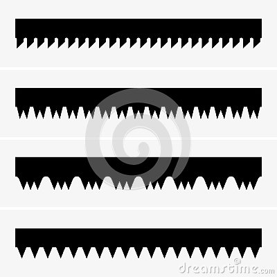 Free Saw Teeth Stock Photography - 116729852