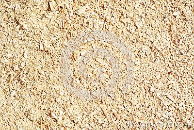 Sawdust wood