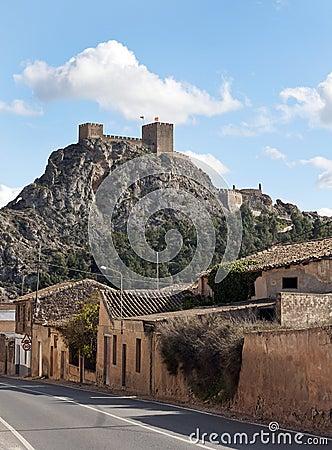 Sax Castle Spain