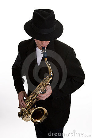 Sax Player 2
