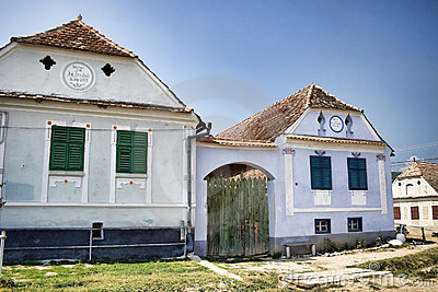 Saxon houses