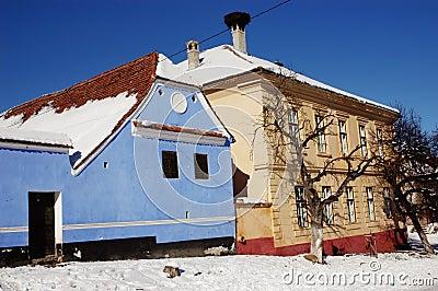 Saxon houses in viscri transylvania romania stock photo image 22170970 - Saxon style houses in transylvania ...