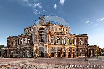 Saxon State Opera in Dresden