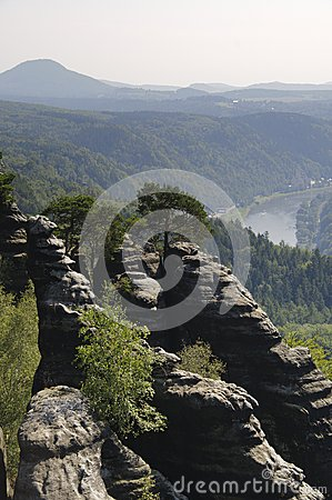 Free Saxony Switzerland Royalty Free Stock Photos - 27431328