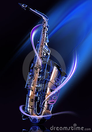 Free Saxophone Royalty Free Stock Images - 8203349
