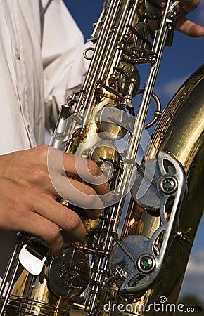 Free Saxophone Close Up Royalty Free Stock Photo - 4626295