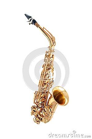 Free Saxophone Isolated Royalty Free Stock Photo - 50046865