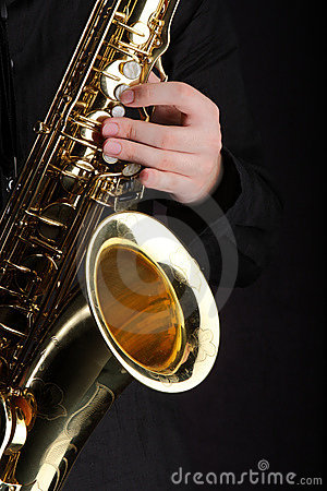 Free Saxophone Player Royalty Free Stock Image - 15329446