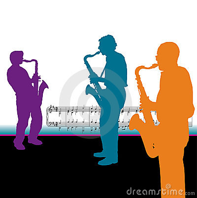 Saxophonist Background