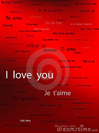 Say I love You in all language