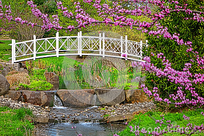 Sayen Park Botanical Gardens Ornamental Bridge