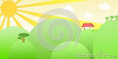 Sbarco pieno di sole