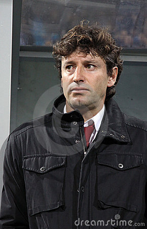 SC Braga manager Domingos Paciencia Editorial Image