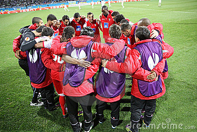 SC Braga players Editorial Photo