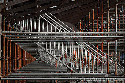 Scaffolding for granstand