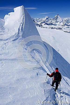 Scalata alpina
