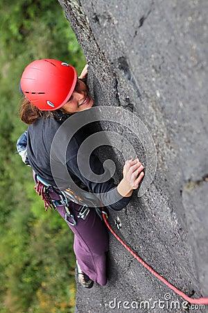 Scalata di roccia