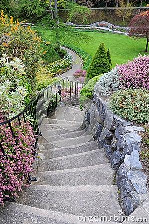 Scale del giardino fotografia stock libera da diritti immagine 20865425 - Scale da giardino ...