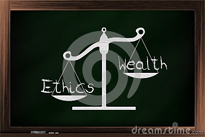 ethics of wealth There is a prevailing myth among some in society that wealth is always a sign of virulent greed and that those who accumulate wealth have unjustly taken from others there is sometimes truth in that there are many times that people use unjust means to gain or hold their wealth it would be wrong to draw.