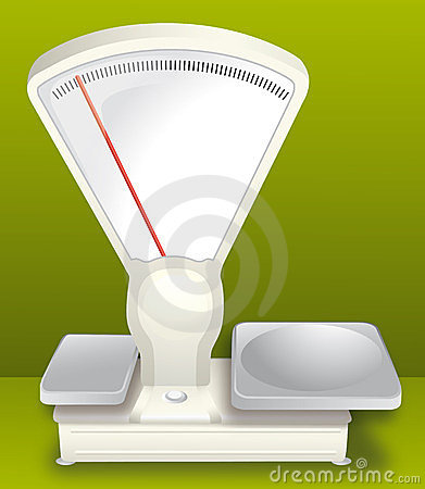 Scale for weighing