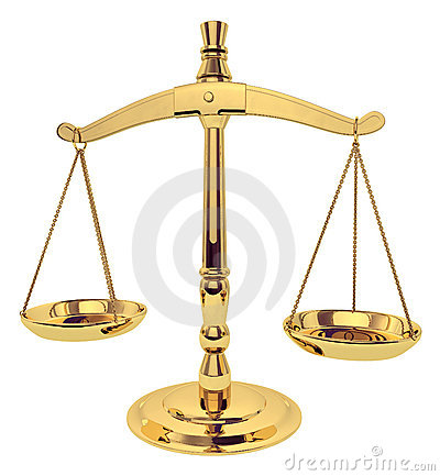 Free Scales Of Justice Stock Photo - 1753560
