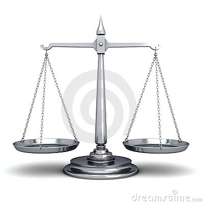 Free Scales Of Justice Stock Photography - 22483452