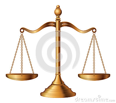 Free Scales Of Justice Stock Photo - 37876650