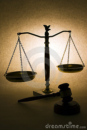 Free Scales Of Justice Stock Photos - 9338573