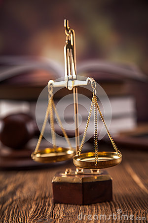 Scales oj justice