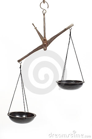 Scales unbalanced