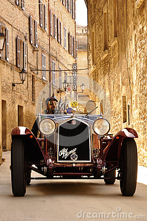 Scalise and Claramunt at the 2012 1000 Miglia Editorial Stock Photo