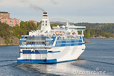 Scandinavian cruise ship