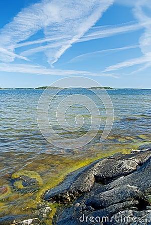Scandinavian rocky coastline