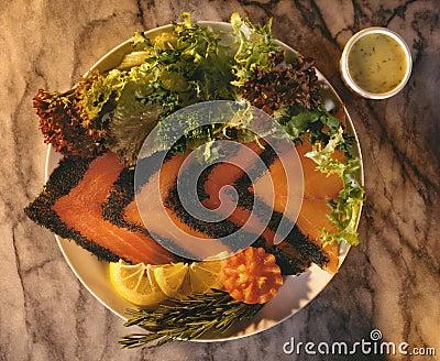 Scandinavian Salmon Gravlax