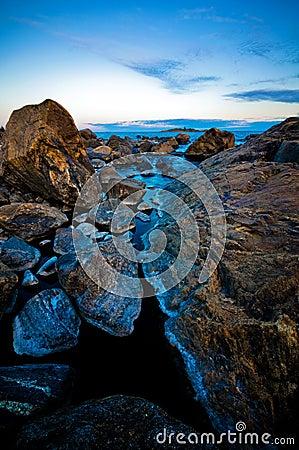 Scandinavian shoreline