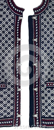 Scandinavian wool sweaters  details